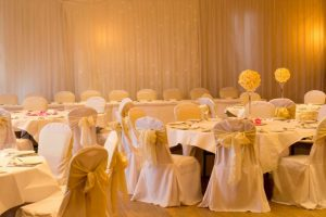 Gold Theme Wedding
